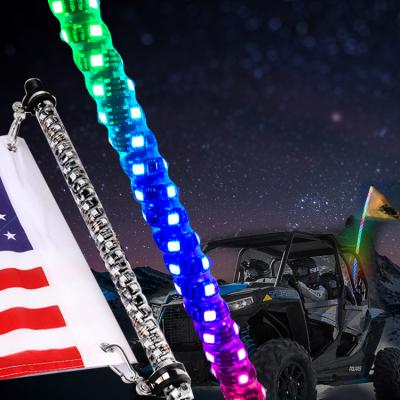 LED whips in utv parts